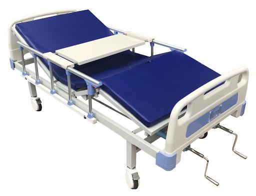giường y tế có tay quay cao cấp