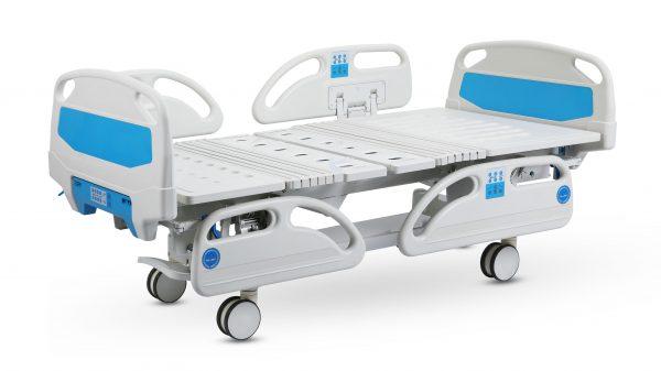giường bệnh nhân 4 tay quay có bô vệ sinh